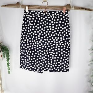 J.CREW dotted basketweave no.2 pencil skirt 0758